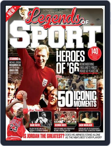 Legends Of Sport July 1st, 2016 Digital Back Issue Cover