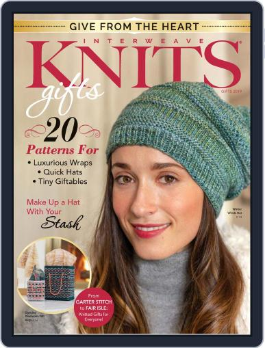 INTERWEAVE KNITS HOLIDAY Digital Back Issue Cover
