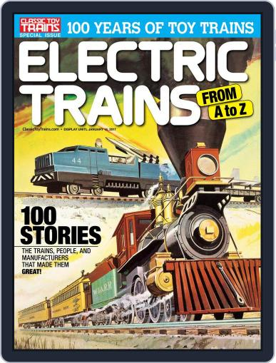 Electric Trains From A to Z Digital Back Issue Cover