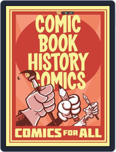 Comic Book History of Comics Digital Back Issue Cover