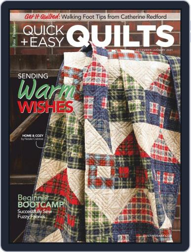 QUICK QUILTS Magazine (Digital) December 1st, 2020 Issue Cover