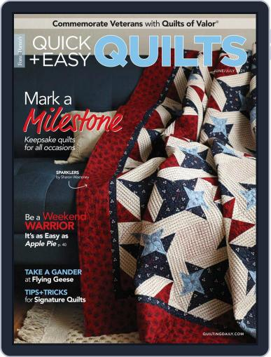 QUICK QUILTS Magazine (Digital) June 1st, 2021 Issue Cover