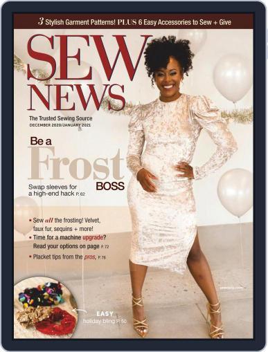SEW NEWS Magazine (Digital) December 1st, 2020 Issue Cover