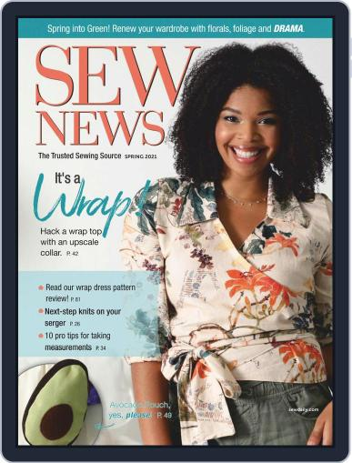 SEW NEWS Magazine (Digital) January 1st, 2021 Issue Cover
