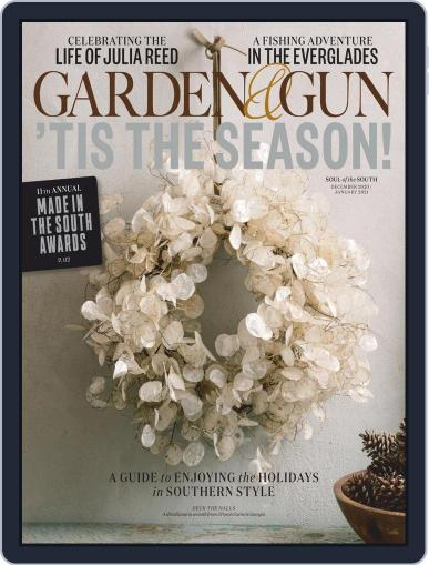 Garden & Gun Magazine (Digital) December 1st, 2020 Issue Cover