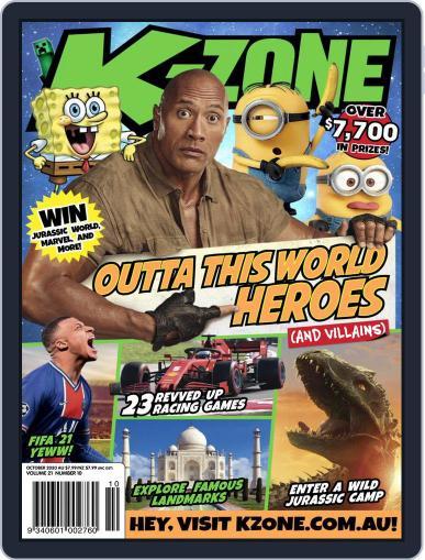 K-Zone Magazine (Digital) October 1st, 2020 Issue Cover