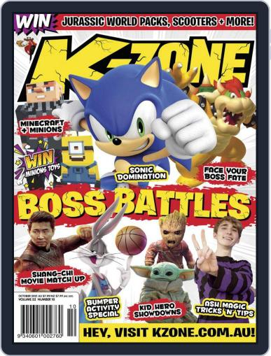 K-Zone Magazine (Digital) October 1st, 2021 Issue Cover