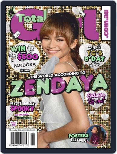 Total Girl Magazine (Digital) November 1st, 2020 Issue Cover