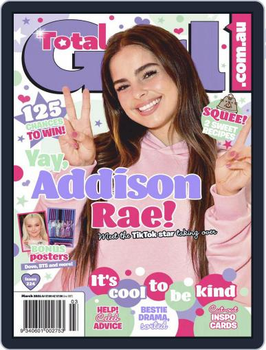 Total Girl Magazine (Digital) March 1st, 2021 Issue Cover