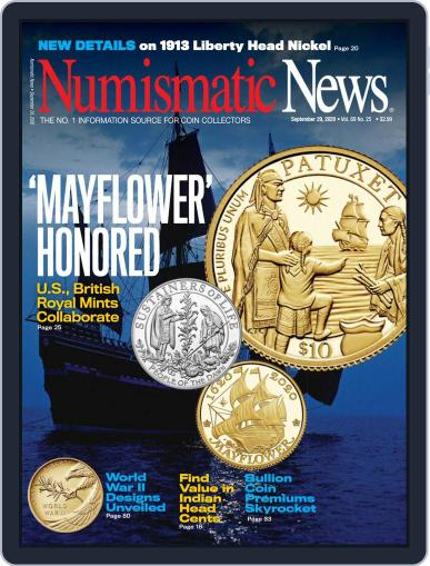 Numismatic News Magazine (Digital) September 29th, 2020 Issue Cover
