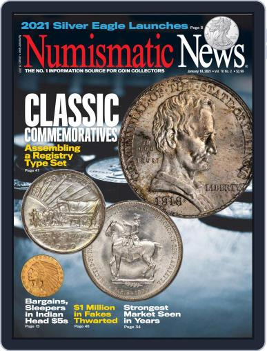 Numismatic News Magazine (Digital) January 19th, 2021 Issue Cover