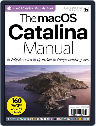 The macOS Catalina Manual Magazine (Digital) November 4th, 2019 Issue Cover