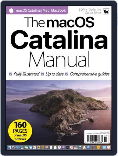 The macOS Catalina Manual November 4th, 2019 Digital Back Issue Cover