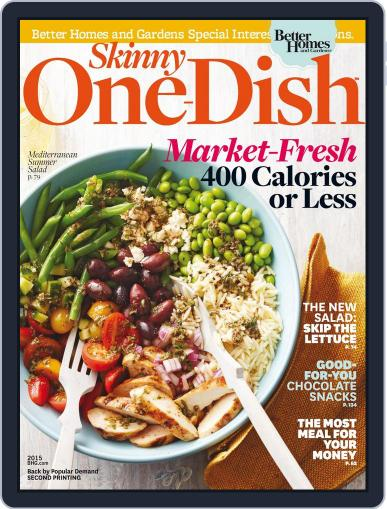 Skinny One Dish Dinners April 24th, 2015 Digital Back Issue Cover