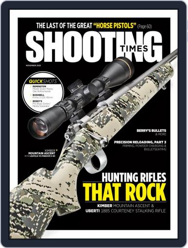 Shooting Times Magazine (Digital) November 1st, 2020 Issue Cover