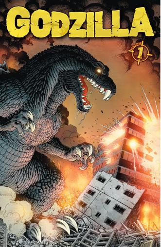 Godzilla (2011-2013) Magazine (Digital) December 1st, 2012 Issue Cover
