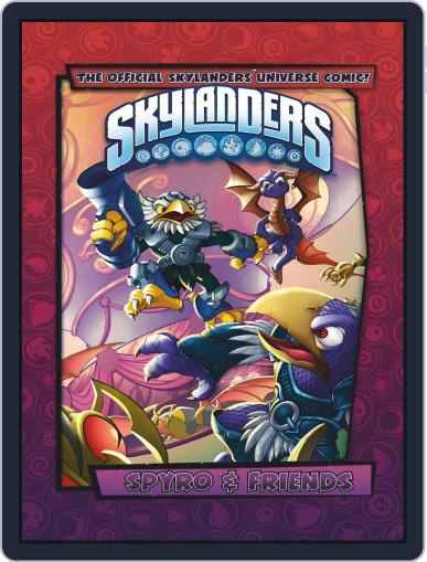 Skylanders Magazine (Digital) February 18th, 2018 Issue Cover