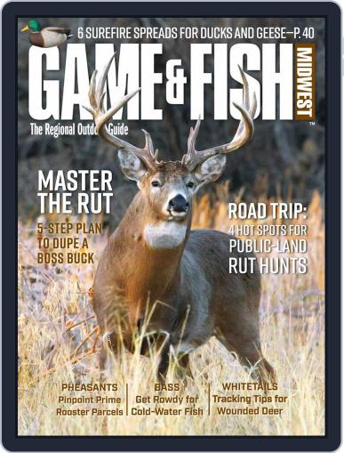 Game & Fish Midwest Magazine (Digital) November 1st, 2020 Issue Cover