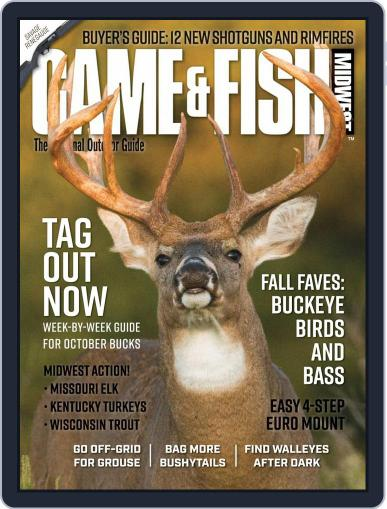 Game & Fish Midwest Magazine (Digital) October 1st, 2020 Issue Cover
