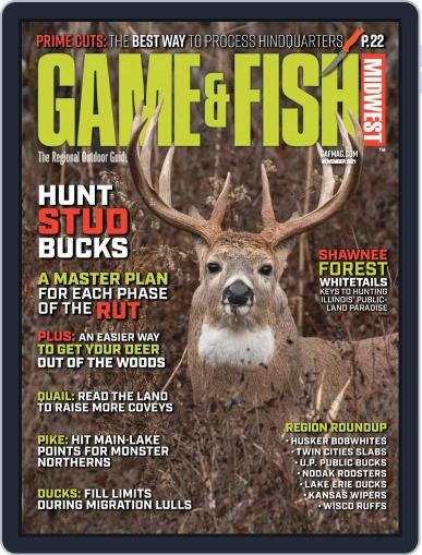 Game & Fish Midwest Magazine (Digital) November 1st, 2021 Issue Cover