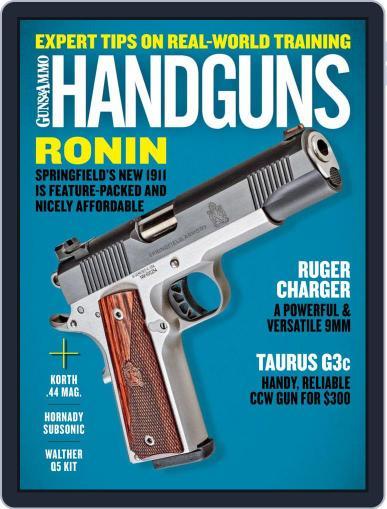Handguns Magazine (Digital) October 1st, 2020 Issue Cover