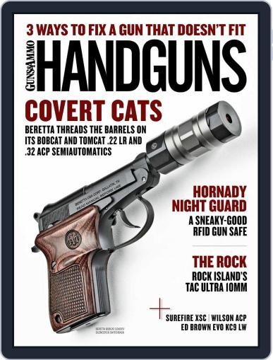 Handguns Magazine (Digital) February 1st, 2021 Issue Cover