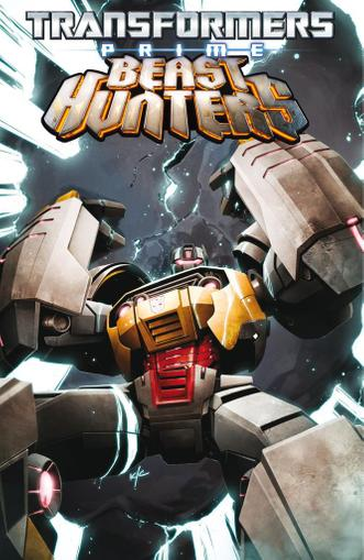 Transformers: Prime - Beast Hunters April 1st, 2014 Digital Back Issue Cover