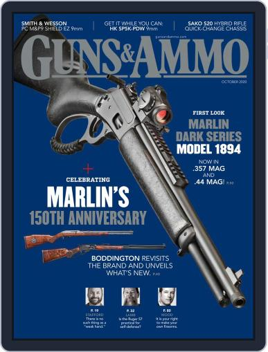 Guns & Ammo Magazine (Digital) October 1st, 2020 Issue Cover