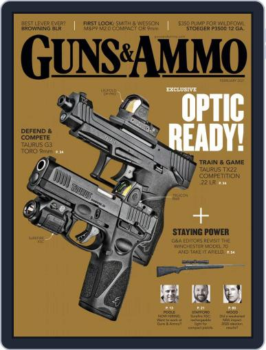 Guns & Ammo Magazine (Digital) February 1st, 2021 Issue Cover