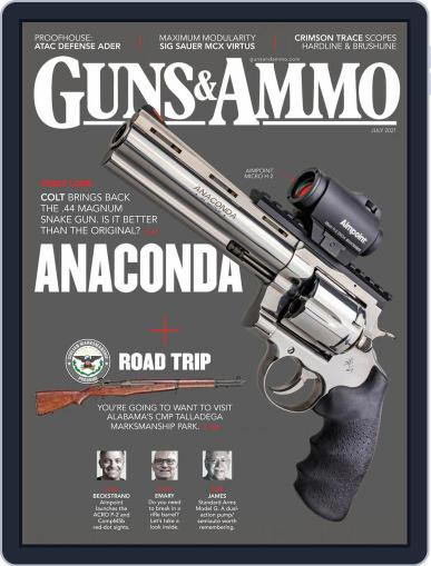 Guns & Ammo Magazine (Digital) July 1st, 2021 Issue Cover