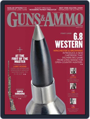 Guns & Ammo Magazine (Digital) March 1st, 2021 Issue Cover