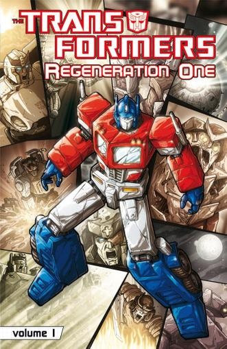 Transformers: Regeneration One February 1st, 2013 Digital Back Issue Cover