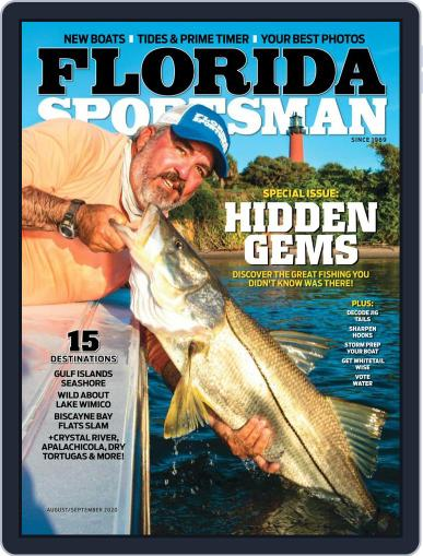 Florida Sportsman Magazine (Digital) August 1st, 2020 Issue Cover