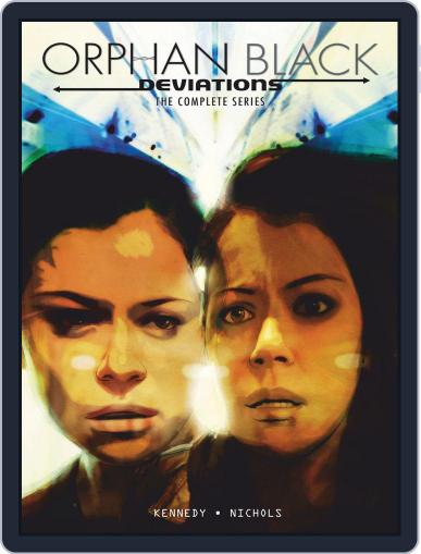 Orphan Black January 1st, 2018 Digital Back Issue Cover