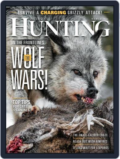 Petersen's Hunting Magazine (Digital) March 1st, 2021 Issue Cover