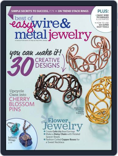 BEST OF EASY WIRE & METAL JEWELRY Magazine (Digital) April 1st, 2017 Issue Cover