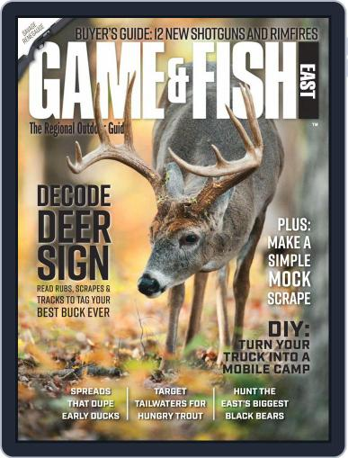 Game & Fish East Magazine (Digital) October 1st, 2020 Issue Cover