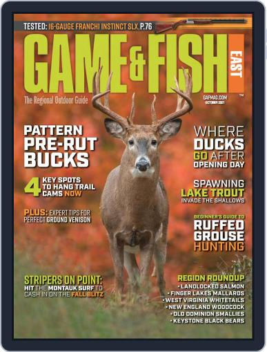 Game & Fish East Magazine (Digital) October 1st, 2021 Issue Cover