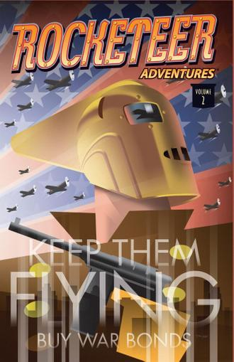 Rocketeer Adventures 2 Magazine (Digital) January 1st, 2013 Issue Cover