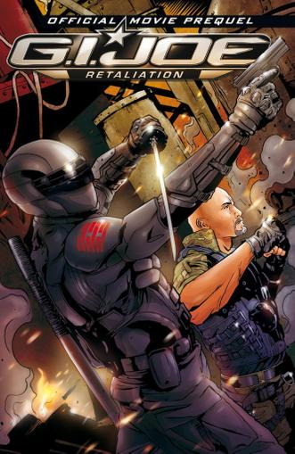 G.I. Joe 2 Movie Prequel May 1st, 2012 Digital Back Issue Cover