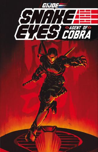 G.I. Joe: Snake Eyes, Agent of Cobra September 1st, 2015 Digital Back Issue Cover