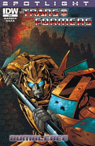 Transformers: Spotlight Magazine (Digital) March 1st, 2013 Issue Cover