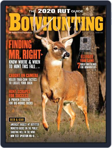 Petersen's Bowhunting Magazine (Digital) October 1st, 2020 Issue Cover