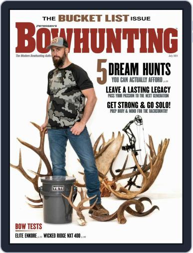 Petersen's Bowhunting Magazine (Digital) July 1st, 2021 Issue Cover
