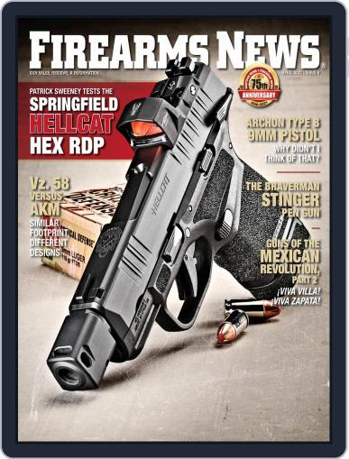 Firearms News Magazine (Digital) April 10th, 2021 Issue Cover