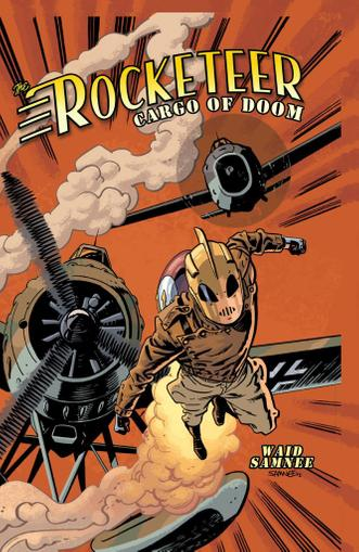 Rocketeer: Cargo of Doom April 1st, 2013 Digital Back Issue Cover