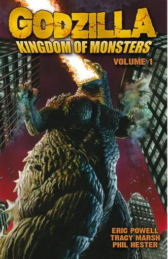 Godzilla: Kingdom of Monsters Magazine (Digital) May 1st, 2012 Issue Cover