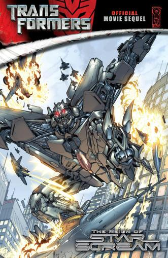 Transformers: Reign of Starscream Magazine (Digital) June 1st, 2011 Issue Cover