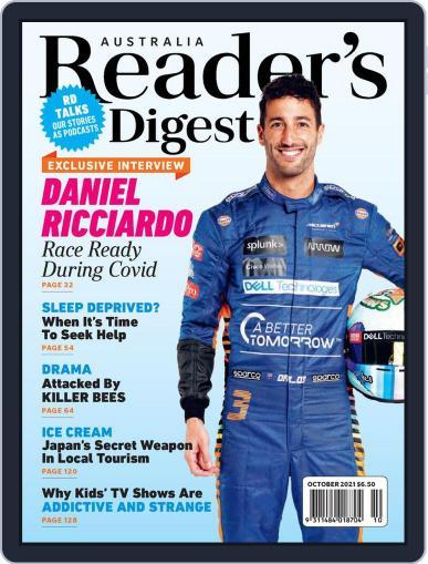 Readers Digest Australia Magazine (Digital) October 1st, 2021 Issue Cover