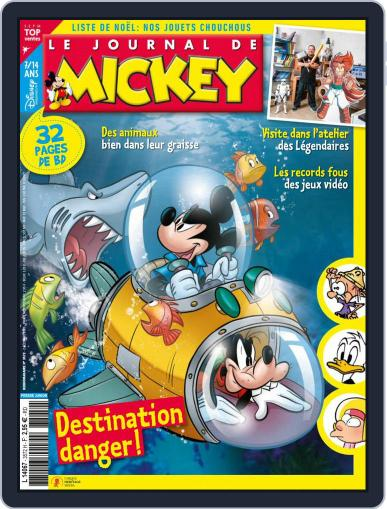 Le Journal de Mickey Magazine (Digital) December 2nd, 2020 Issue Cover